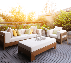Home Buying For the First Time: Must-Have Home Items Patio Furniture Image