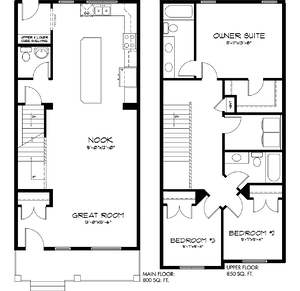 The Latest Quick Possession Homes From Pacesetter! Carson Floor plan Image