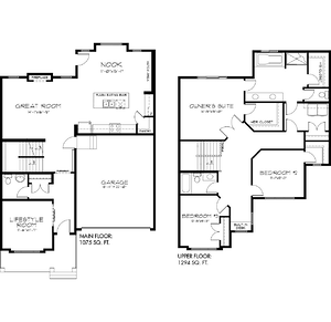 The Latest Quick Possession Homes From Pacesetter! Oscar Floor Plan Image