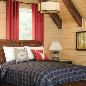 Decor, eh? All About Canadiana Style Bedroom Image