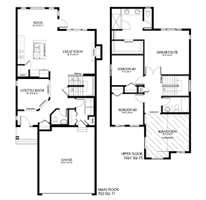 The Latest Quick Possession Homes From Pacesetter! Maddy II Floor Plan Image