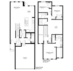 Model Feature: The Memphis Floor Plan Image