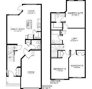 The Latest Quick Possession Homes From Pacesetter! Lazzaro Floor Plan Image