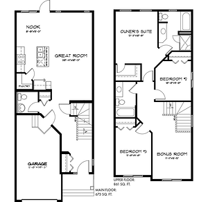 The Latest Quick Possession Homes From Pacesetter! Lily Floor Plan Image