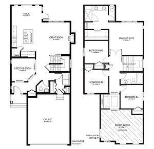 The Latest Quick Possession Homes From Pacesetter! Mackenzie Floor Plan Image