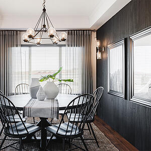 Dining Nook Chandelier - Summerwood Vienna Show Home